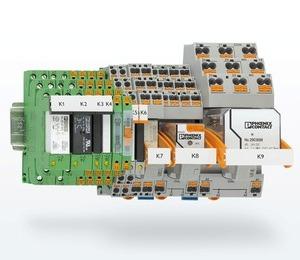 Электромеханические и полупроводниковые релейные модули Phoenix Contact