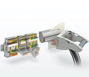 Электротехнические клеммы Phoenix Contact для систем защиты и управления