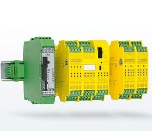 Конфигурируемые модули безопасности Phoenix Contact