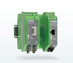 Медиаконвертеры Phoenix Contact для оптоволоконной передачи данных
