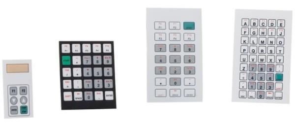Плёночные клавиатуры Bopla