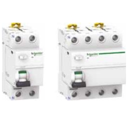 Дифференциальные выключатели нагрузки Schneider Electric Acti 9 iID, типы AC, A, Asi
