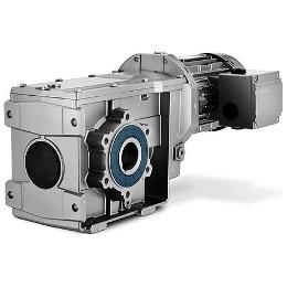 Цилиндрическо-конический плоский 2-х ступенчатый мотор-редуктор Siemens SIMOGEAR